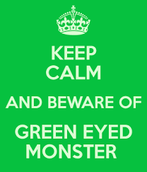green-eyed