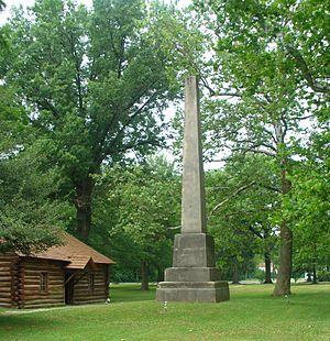 300px-Gnadenhutten_monument